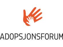 Adopsjonsforums logo som jpg