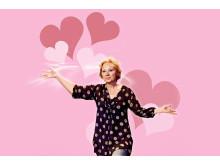 De ska vara två – Marie Delleskog i en existentiell pjäs om kärleksfulla relationer