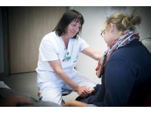 Undersköterskan Pernilla Eidenberg, ansvarig för Anhörigstöd på akuten