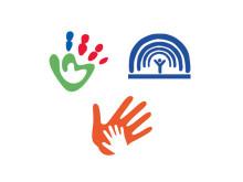 """Logoen til kampanjen """"Øk adopsjonsstøtten"""""""