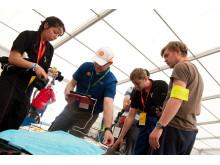 Shells teknikere måler energibruk etter målgang