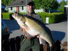 Nytt sportfiskerekord på gös