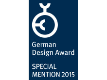German Design Award Special Mention for 2015 till Toyota Material Handling