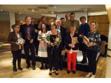 Gruppbild glada jubilarer 2015