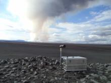Optisk skanner för mätning av halten svaveldioxid i luften