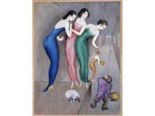 """Nils Dardels målning """"Drömmar och Fantasier"""" från 1922"""