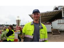 Lennart Davidsson - andraplats med Volvo L60G i Standard Tractor Pullin (upp till 12ton)