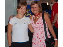 Veronica Wagner och Ingegerd Ericsson i Almedalen