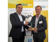 Affibody SwedenBIO Award vinnare 2013