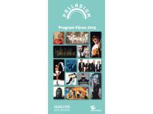 Musik i Syd presenterar: Vårens program på Palladium i Malmö – med releaser och jubileum, lokalt och internationellt