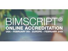 Anmäl dig till BIMscript® Online Accreditation 2016