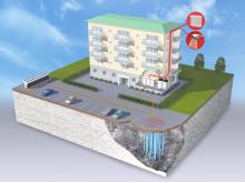 Uppvärmning av bostäder med geoenergi