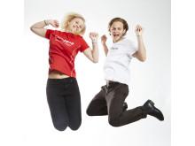 Josefin och Leonard i fina Childhood-tröjor från PelleP