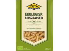 Ekologisk pasta strozzapreti från Zeta