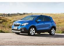 Maximala fem stjärnor i Euro NCAP för Opel Mokka