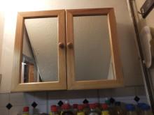 Op Batmobile - wall cupboard in shop concealing hiding place NW04/15