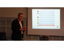 Presskonferens om Sveriges matstad