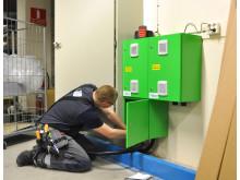Wattguard – pågående installation av 'gröna lådan'