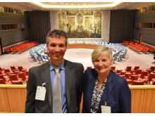 Lærere fra Kvadraturen på studiereise til FN i New York