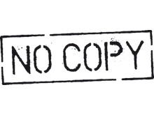 No copy logotype