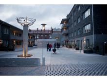 Kvarteret Sparven i Luleå med LED-belysning från Fox Design