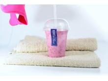 Nya mättande smoothies av Berries by Astrid på Balance Training gör din träning effektivare