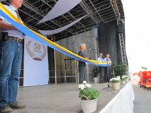 Elisabeth Nilsson inviger Väderstad-Verken senaste utbyggnation