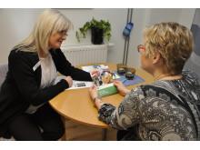 Hälsosamtal visar vägen till ett friskare liv