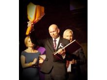 Vinnaren Årets företagare 2012
