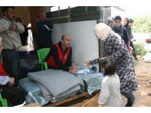 Filtar till syriska flyktingar