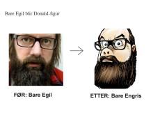 Duckifisering av Bare Egil