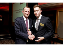 Patrick Caiger-Smith at European Smart Metering Award 2013
