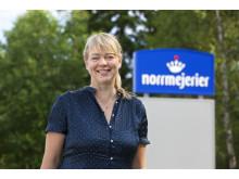 Anna-Karin Karlsson, chef för marknad och innovation på Norrmejerier