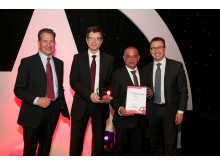 MTR och Arriva mottar utmärkelsen Rail Operator of the Year Award i London