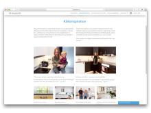 Köksinspiration Webbplats
