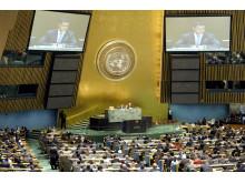 Generalforsamlingen velger fem nye medlemmer til sikkerhetsrådet
