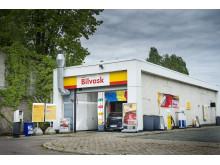 Svanemerkede kjemikalier innføres i Shells bilvask