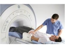 MR maskin med pasient