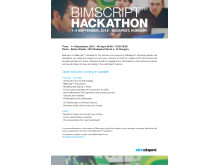 Apply for BIMscript™ Hackathon 2015!