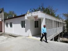 Invigning av Rehab Center vid sjukhuset HCH i Port-au-Prince, Haiti den 16 mars 2012