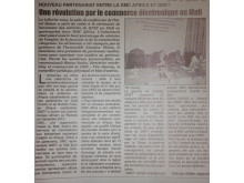 QNET in Mali's Guido Newspaper