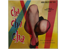 "Plateomslag. Vinylens comeback.""Cha Cha Cha"", Pedro Garcia, 1956. Design: Fernand Fonssagrives."