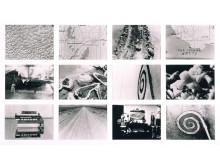 "Fattig kunst – rik arv. Robert Smithson, Stillsfotografier fra ""Spiral Jetty"" / Stills from Spiral Jetty, 1970"