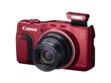 PowerShot SX710 HS RED FSL Flash Up