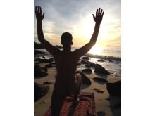 Nude Yoga on Koh Samet beach