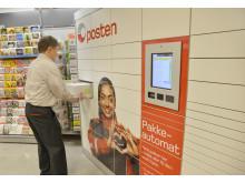 Postens pakkeautomat