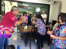 Songkran celebration in Scand-Media Group