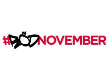 Röd november logotyp