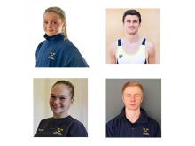 Fyra gymnaster tilldelas RFs elitidrottsstipendium