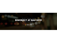 Meet BIMobject® at BAU 2015!